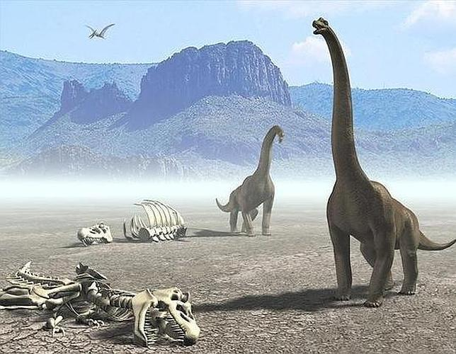 Resultado de imagen de la extinción de los dinosaurios