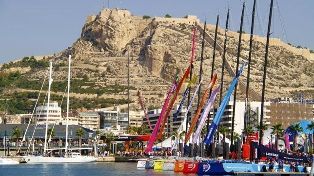 El recinto de la Volvo Ocean Race en Alicante supera las cien mil visitas