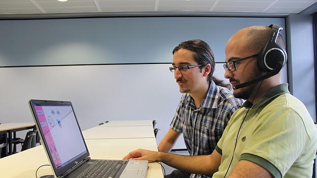 Los creadores de la herramienta la prueban en un aula de la universidad