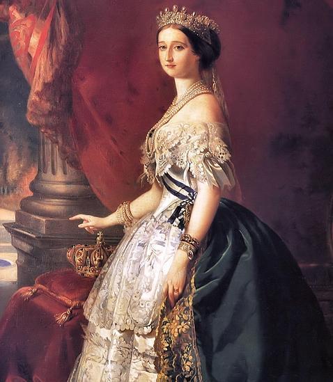 Retrato de la Emperatriz Eugenia de Montijo