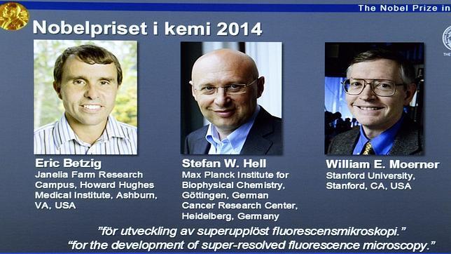 Nobel de Química para los «padres» del  nanoscopio