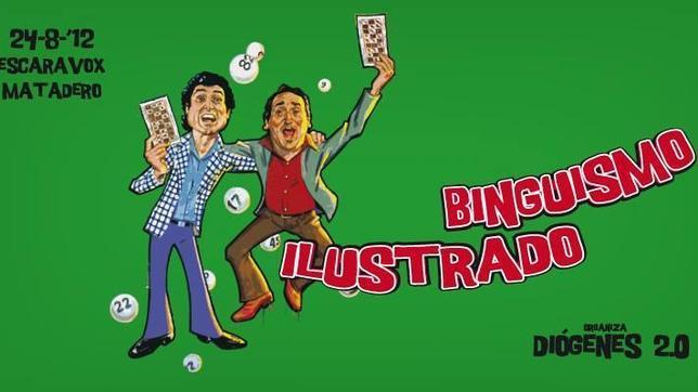 Cartel para «Binguismo Ilustrado». Proyecto del colectivo Diógenes 2.0