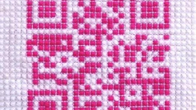 «8 Bit Cross Stitch (Punto de cruz a 8 bits)» (2011)