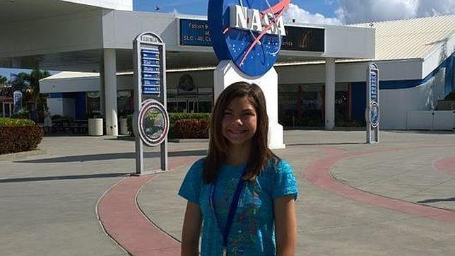 ¿Será esta niña de 13 años la primera en pisar Marte?