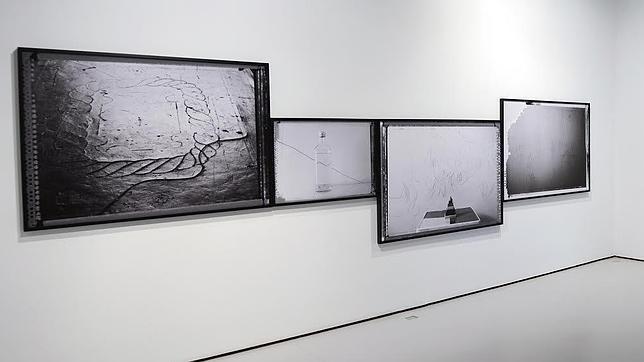 Vista de la exposición «360 metros cuadrados» de Pedro David, ganador de Nexofoto en la galería Astarté dentro del marco de PHE'14