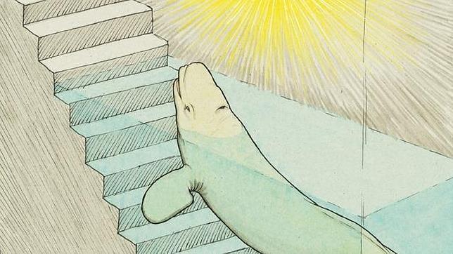 Fragmento de una de las ilustraciones de Gorka Olmo