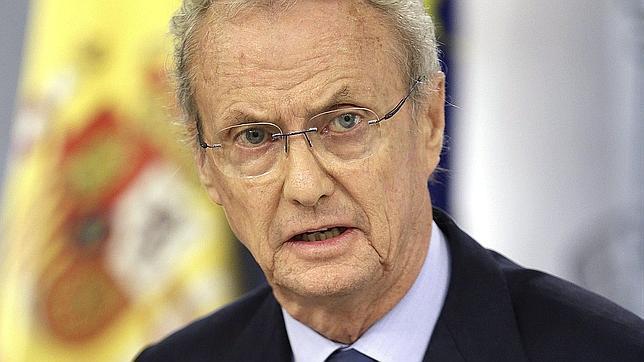Pedro Morenés, en rueda de prensa tras el Consejo de Ministros