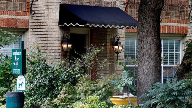 Imagen de la vivienda de la infectada, en Dallas (Texas, EE.UU.)