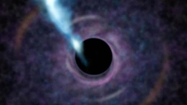 La teoría de Hawking dice que los agujeros negros emiten una extraña radiación que les hace perder masa
