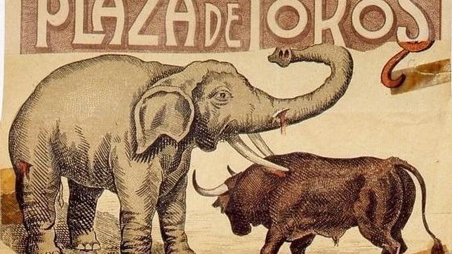 «Pizarrín», la historia de la elefanta enterrada en El Retiro que luchó contra 5 toros