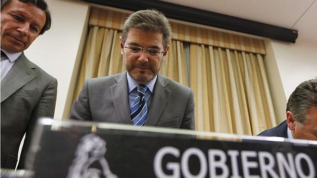 Rafael Catalá en la Comisión de Justicia