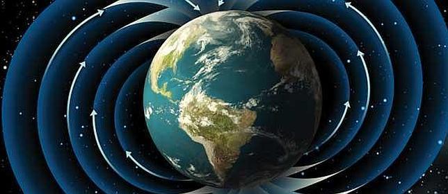 El campo magnético de la Tierra puede debilitarse y cambiar de dirección.