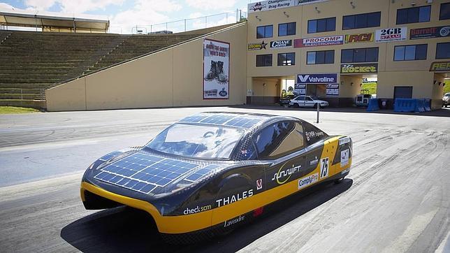 Un coche eléctrico australiano bate el récord mundial de velocidad