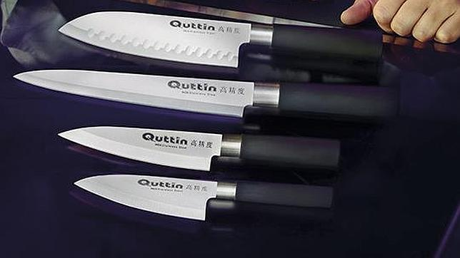 Consigue con abc un completo set de cuchillos quttin - Set de cuchillos bergner ...