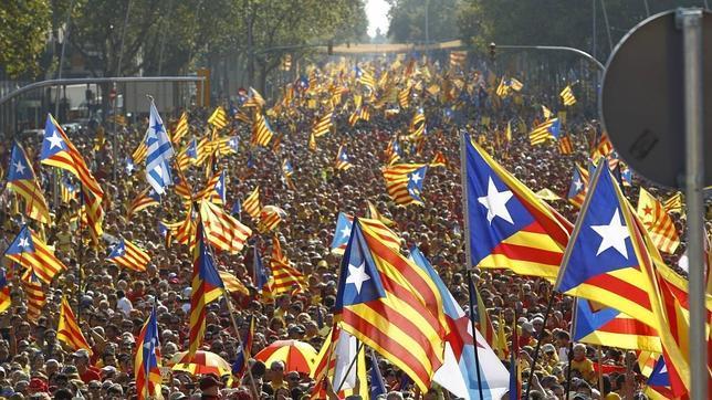 Resultado de imagen para independentismo catalán