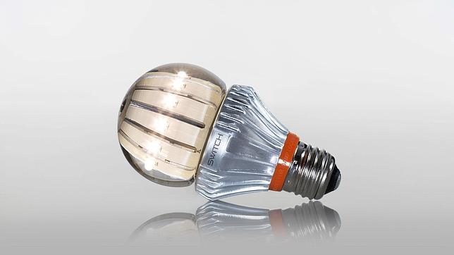 Una bombilla LED