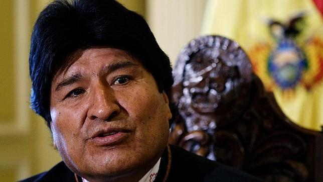 Evo Morales durante una entrevista el pasado 13 de octubre