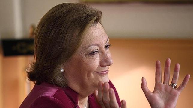 Luisa Fernanda Rudi, presidenta del Gobierno aragonés y líder regional del PP