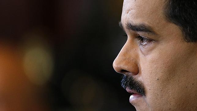Nicolás Maduro, durante una conferencia en el palacio de Miraflores de Caracas el pasado miércoles