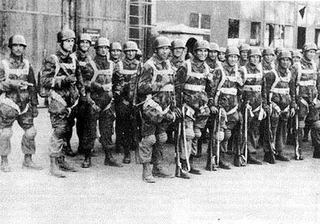 Los paracaidistas de Himmler formaban una unidad de élite al margen de la Luftwaffe