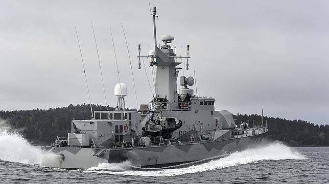 La Armada sueca intensifica la búsqueda del submarino fantasma