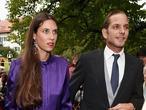 Casiraghi y  Santo Domingo esperan su segundo hijo