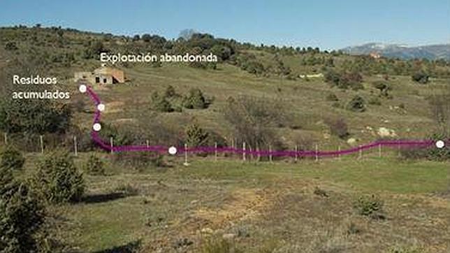 La zona donde han sido encontrados los residuos de arsénico
