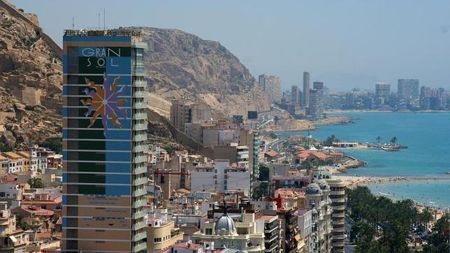 Image de uno de los hoteles más conocidos de la ciudad de Alicante, el Gran Sol