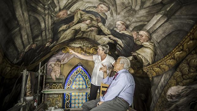 El restaurador de la Capilla Sixtina alaba las obras de la iglesia de San Nicolás