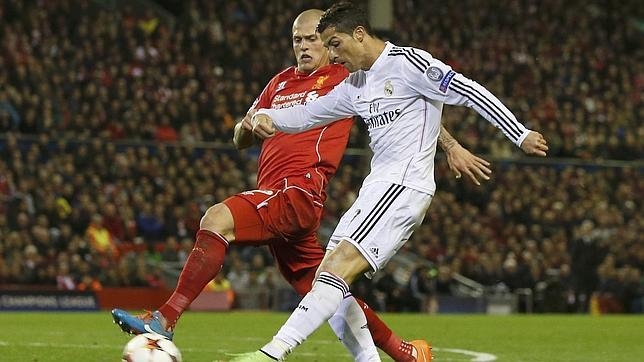 Esto es Anfield, y esto es el Real Madrid