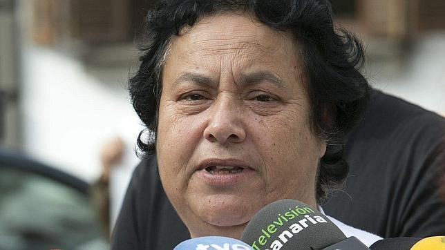 La portavoz de la Coordinadora Canaria contra las Prospecciones Petrolíferas, Lucía Rodríguez