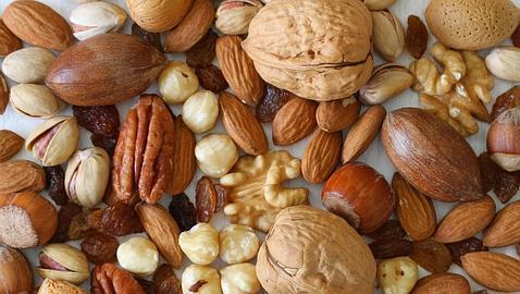 Los frutos secos son beneficiosos para la enfermedad de alzhéimer