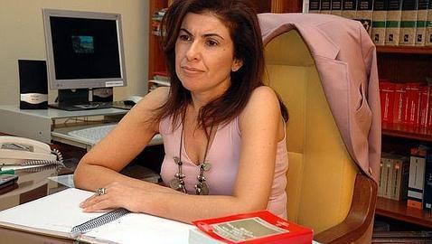 La diputada regional del PSOE Gloria Gutiérrez