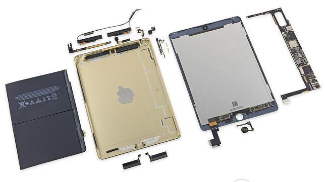 Así son las «tripas» del nuevo iPad Air 2
