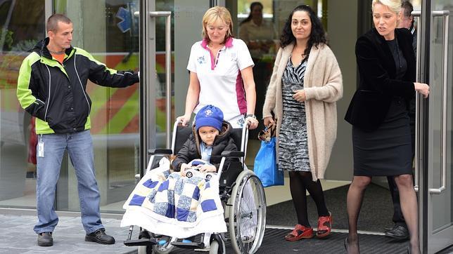 El niño británico Ashya King completará su tratamiento contra el cáncer en Málaga