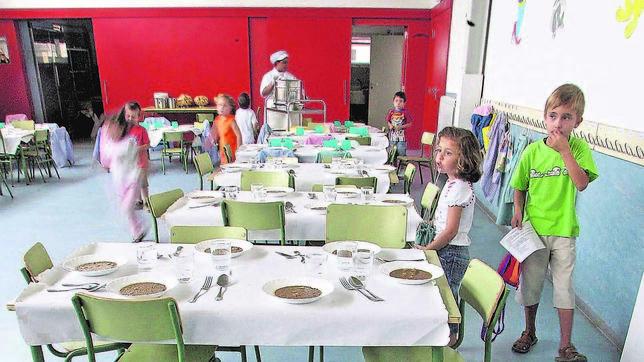 Los 38.800 niños que usan los comedores escolares han generado 234 ...