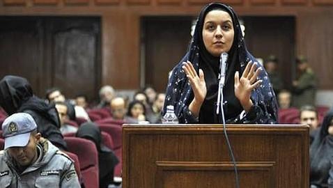 Reihané Yabarí, la joven que ha sido ejecutada por Irán
