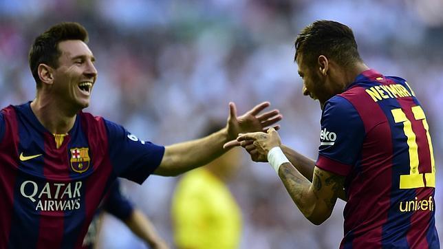 Neymar, gol a los 180 segundos