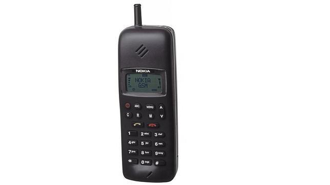 Los teléfonos móviles gloriosos de Nokia