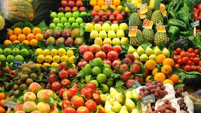 Todas las frutas contienen agua