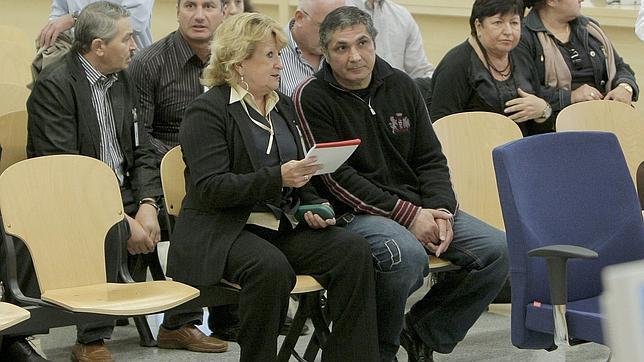 Zakhar Kalashov, en el juicio que se siguió contra él en la Audiencia Nacional