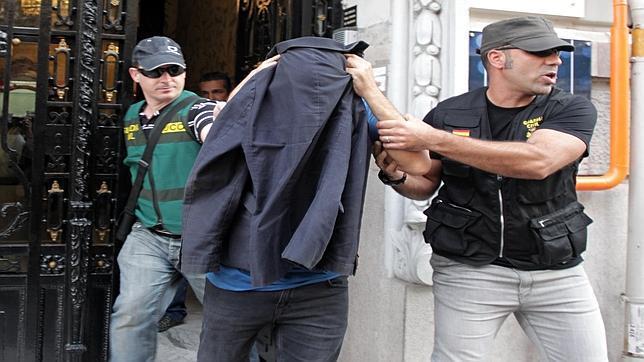 Imagen del segundo detenido en Valencia