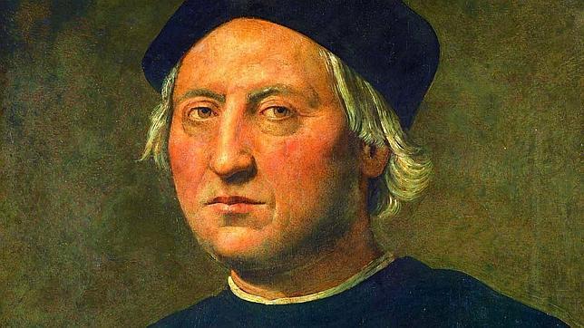 Cuadro de Cristóbal Colón del pintor renacentista italiano Ghirlandaio