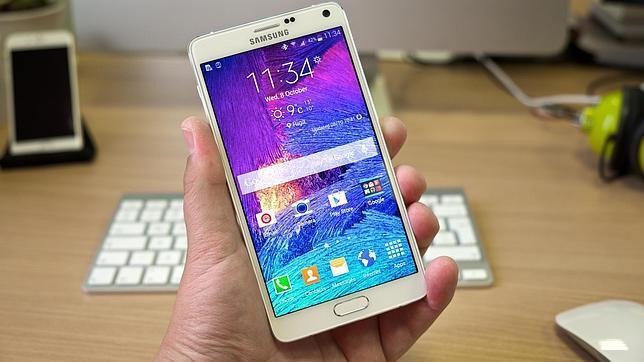 Probamos el «phablet» Samsung Galaxy Note 4, un terminal impresionante