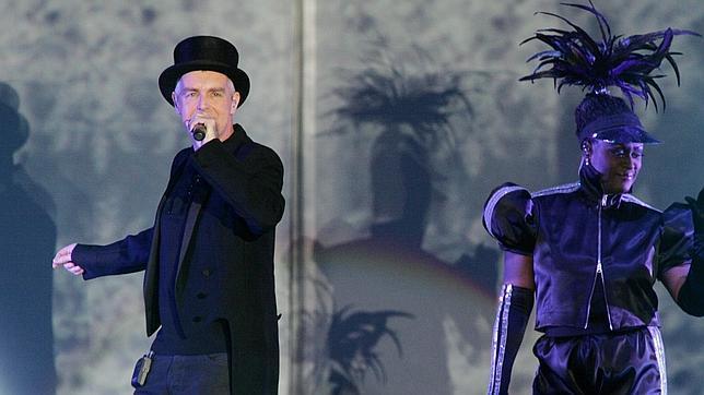 Pet Shop Boys, durante una de sus actuaciones