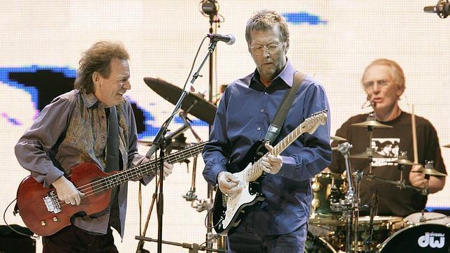 Jack Bruce y Eric Clapton, en una imagen de archivo