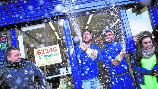 Administración en Leganés, que el año pasado vendió el primer premio de la Loteria de Navidad