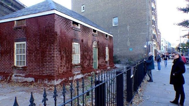 La casa que se derrite en el sur de Londres