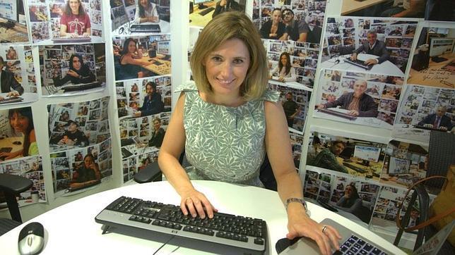 Silvia Álava en un momento del chat en ABC.es