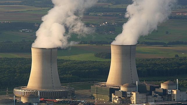 Imagen de la planta nuclear de Cattenom, en el este de Francia